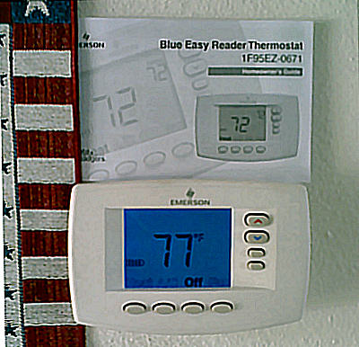 WHITE RODGERS BIG BLUE™ THERMOSTATS